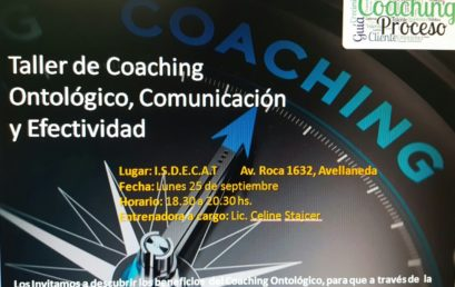 Jornada Solidaria – Taller de Coaching