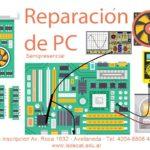 Reparación de PC. Semi-Presencial  – Agosto 2019