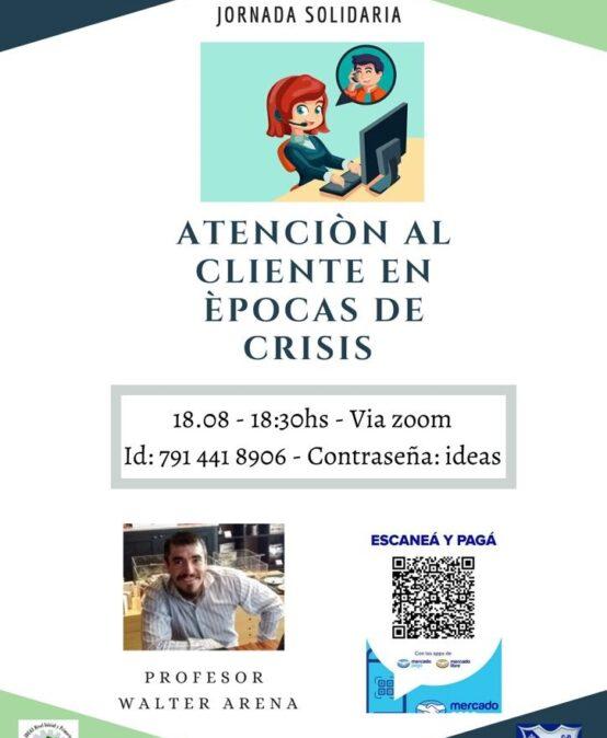 Webinario solidario Atención al Cliente en Épocas de Crisis