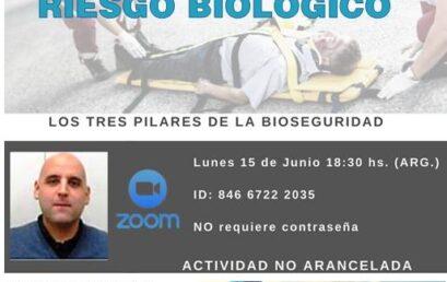 Webinario Bioseguridad en Primeros Auxilios