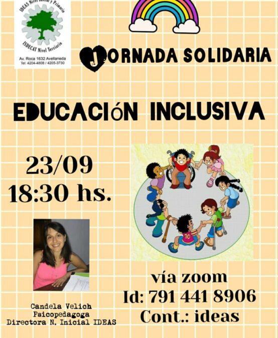 Webinario solidario Educación Inclusiva