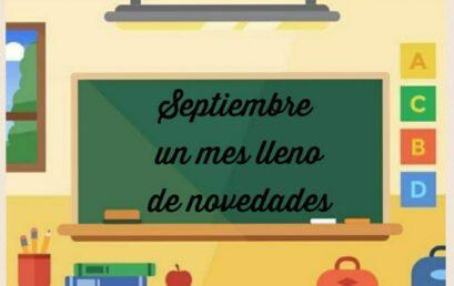 Novedades septiembre…