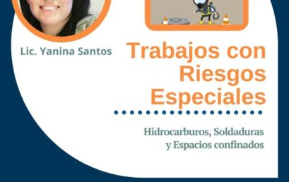 Webinario Solidario Trabajos con Riesgos Especiales 6 de noviembre 18:30h