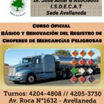 Licencia para el transporte de Mercancias Peligrosas