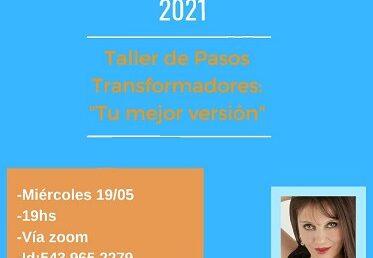 WEBINARIO SOLIDARIO «PASOS TRANSFORMADORES»