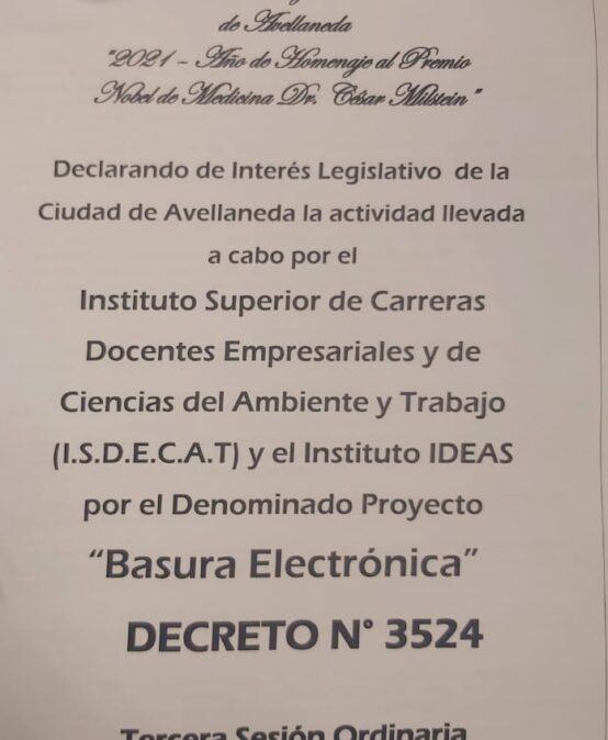 PROYECTO BASURA ELECTRONICA