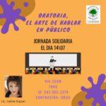 WEBINARIO SOLIDARIO DE ORATORIA – 14/7 19hs.